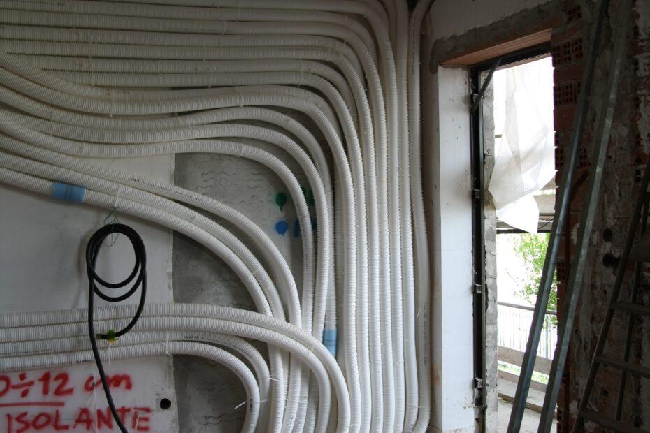 Lavori per la ventilazione meccanica controllata